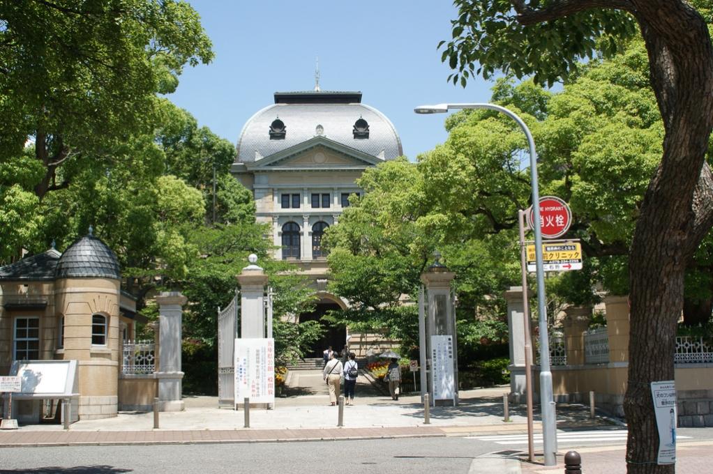 兵庫県公館 正面玄関