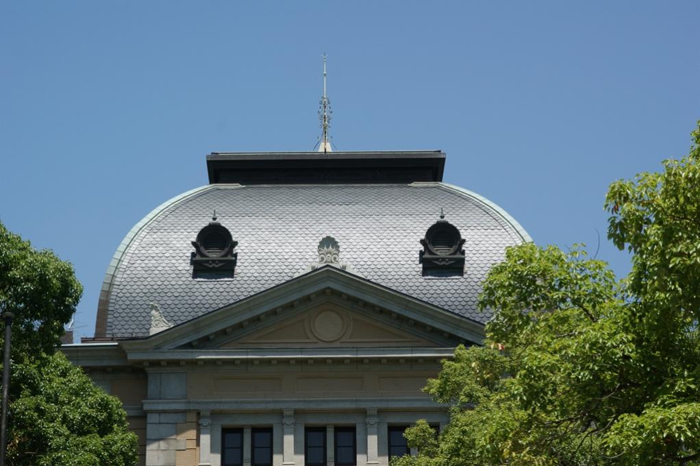 兵庫県公館 屋根
